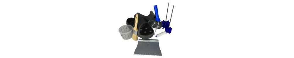 Accessoires et outillage résine epoxy